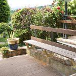 banc sur terrasse en bois brioude issoire